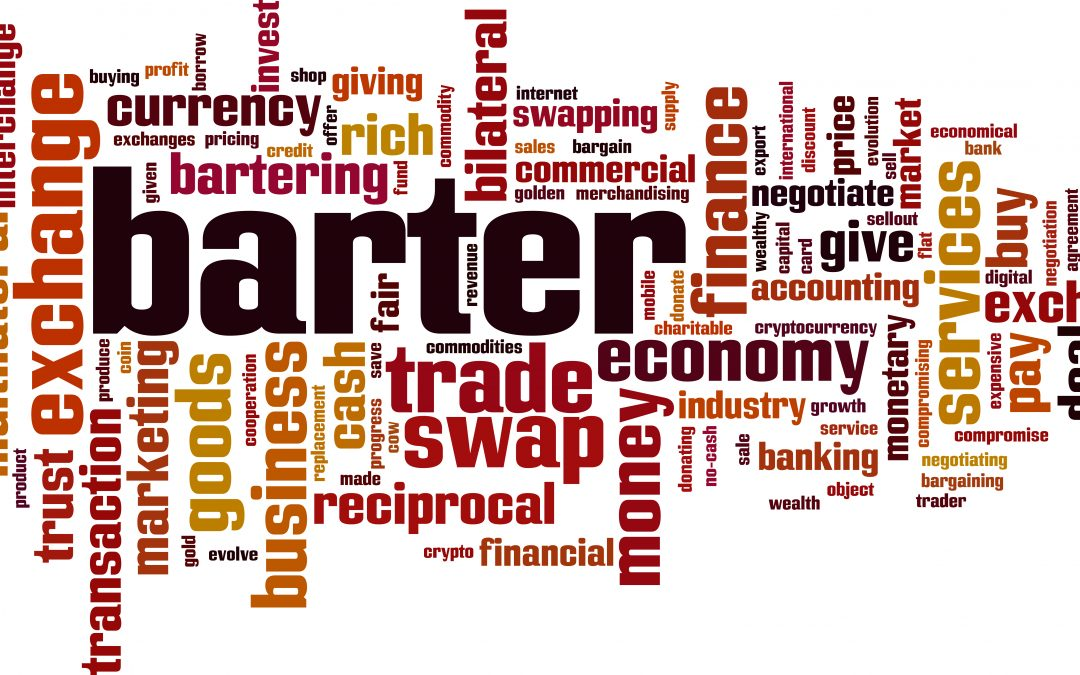 What Is the Difference Between Barter and Currency Systems?